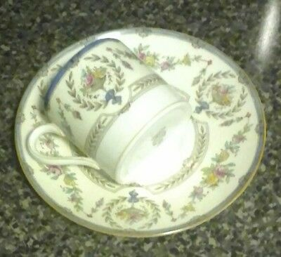 6 Minton Hampshire B1343 Demitasse Cups & Saucers  GREAT