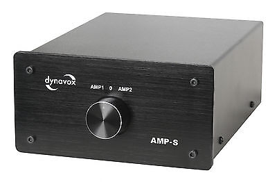 Dynavox Amplifier/Speaker Switch Black AMP-S