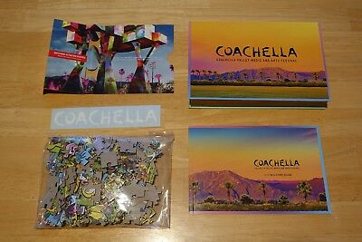 Coachella 2018 Souvenir Box Weekend 1 One with bonus AMEX courtesy gift