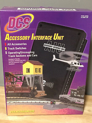 New MTH Electric Trains DCS AIU Accessory Interface Unit # 50-1004 FREE SHIPPING