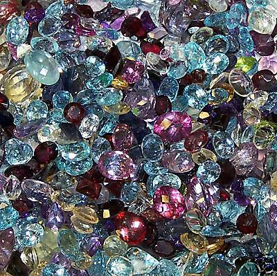 Crap Lot Mixed Natural Gemstones 30cts