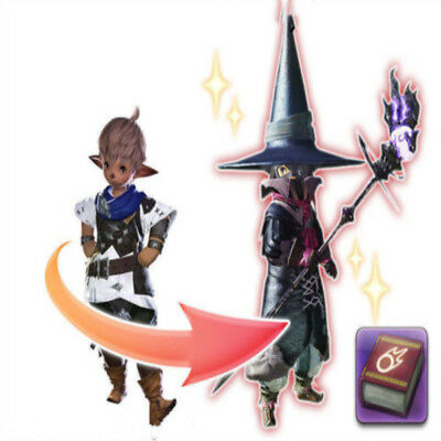 FINAL FANTASY XIV FF14 Level Boost Tales of Adventure One Black Mage's Journey I