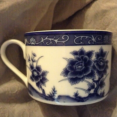 Imari Porcelain Blue and White Tea Cup from China