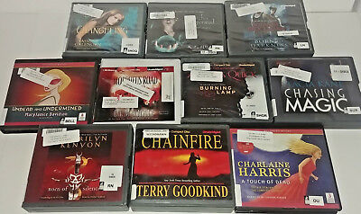 Fantasy Audio Books Lot of 10 on CD FREE SHIPPING Unabridged A-10