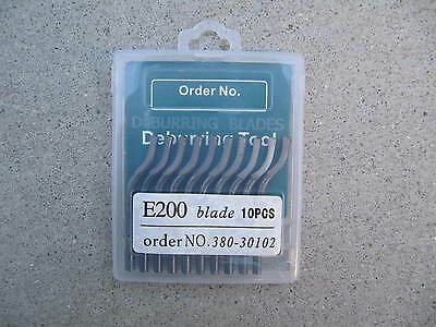 DEBURRING REPLACEMENT BLADES,   E200, 10pcs  , SEASUN
