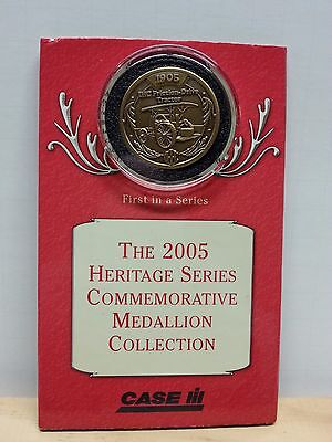 2005 Case IH Heritage Series Commemorative Medallion 1905 FRICTION-DRIVE TRACTOR