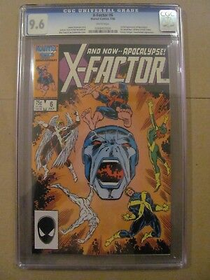X-Factor #6 Marvel Comics 1st full app Apocalypse CGC 9.6 Near Mint+