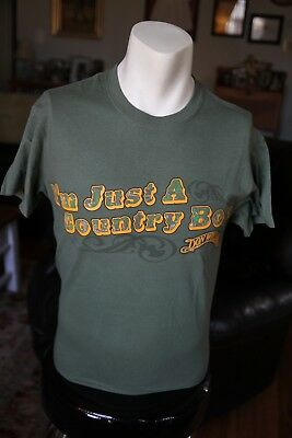 RARE Don Williams I'm Just a Country Boy t-shirt SMALL The Gentle Giant Cowboy