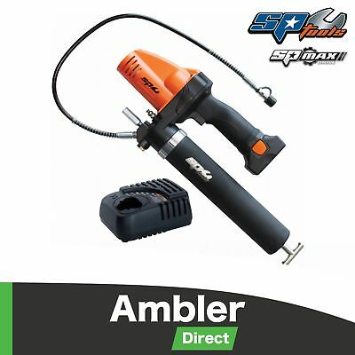 SP Tools 16v 2.0Ah Cordless Lithium-Ion Industrial Grease Gun Kit - SP81513