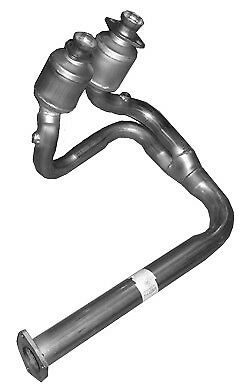 Catalytic Converter Fits: Jeep - Front Y-Pipe w/2 Cats. 01-03 Jeep Wrangler TJ 4