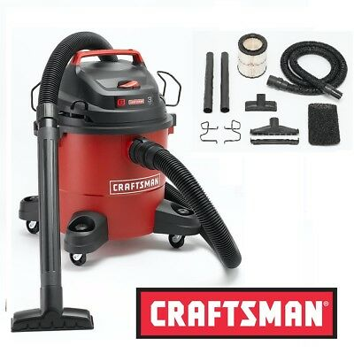 Craftsman 6 Gallon 3 peak HP Wet Dry Vac Garage Car Shop Vacuum Shop Blower