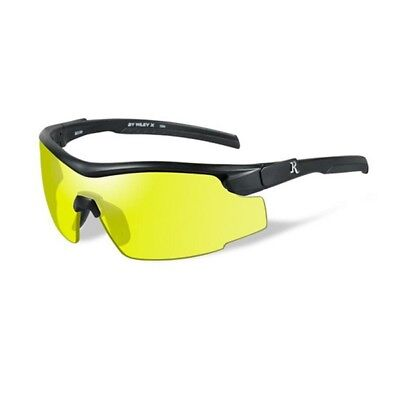 Wiley X RE102 Remington Sunglasses Yellow Lens Matte Black Frames