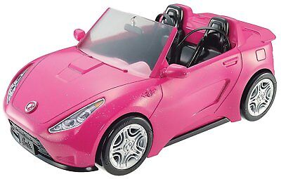 Barbie Convertible Vehicle Glam New Girls Hot Seats Pink Pink Mattel Toy