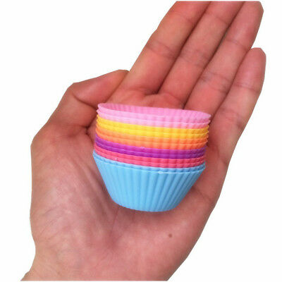 100Pcs Mini Paper Baking Cups Liner Muffin Cupcake Paper Cake Case Party Useful