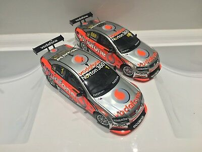 1:18 2010 Whincup & Lowndes Team Vodafone Biante AUTOart Triple Eight Engineerin