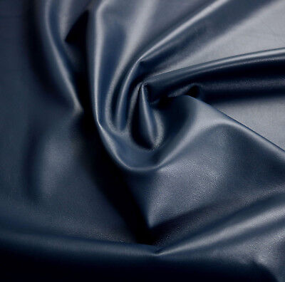 Lamb nappa leather 0.7mm NAVY Beautiful soft smooth BARKERS HIDE & SKINS N248