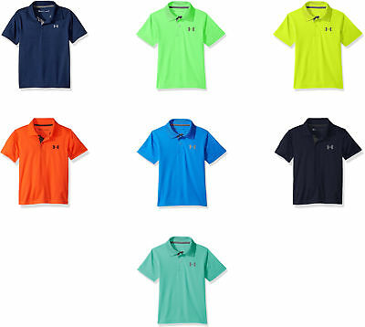 Under Armour Boys' UA Match Play Polo, 10 Colors
