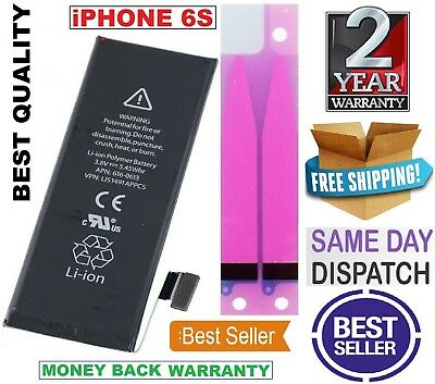 """NEW 1715mAh Internal Battery Replacement For iPhone 6s 4.7"""" +Tool +Tapes"""