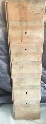 """Salvage Wood French Provincial Serpentine Drawer Front Pediment Cherry 29.5"""""""