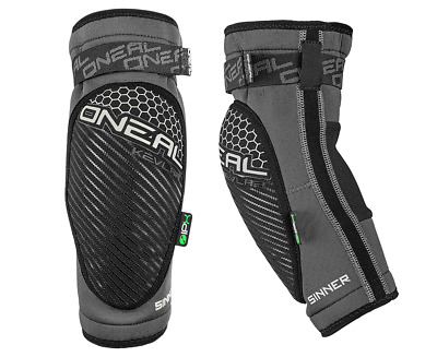 O`neal Sinner Elbow Guard Gray/White - Mx - Motocross  - Off Road - Protection
