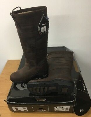 toggi canyon boots Size 5 38 Wide Chocolate Brown