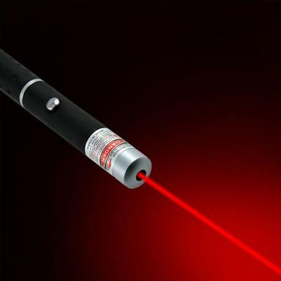 Strong Powerful Laser Pointer Red Beam -1mw 2xAAA Cat Toy Cat Dog Toy PowerPoint