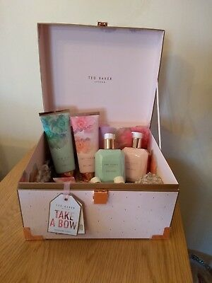 TED BAKER 'TAKE A BOW' Treasure Chest GIFT SET *PERFECT GIFT* BRAND NEW