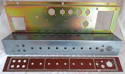 Replacement JMI / Vox AC30 TOP BOOST Chassis Steel & Ali Parts + Faceplate NEW