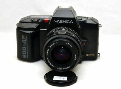 Yashica 200AF + 35-70mm f3.5-4.5 Macro Zoom Mint Condition Contax Leica Yashica