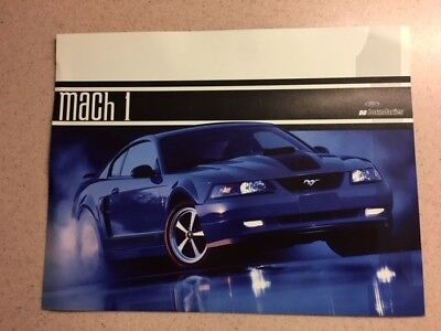 "2003 Ford Mustang Mach 1 Poster  8 1/2"" X 11"""