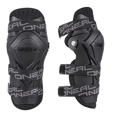 O`NEAL PUMPGUN MX CARBON LOOK Knee Shin Guards  - MX - MOTOCROSS  - OFF ROAD