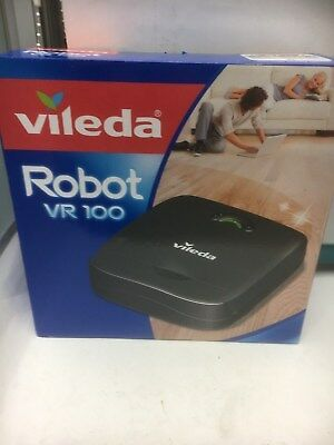 Vileda VR100 Cleaning Robot Vacuum Cleaner with 60 Minute Running Time