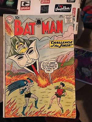 Batman #136 JOKER COVER/STORY! 1960  10c Cover Book Dc comics