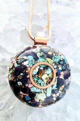 Powerful (Reduce Anxiety) Orgone Pendant / Orgonite® Pendant (Large)