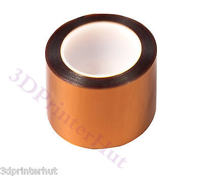 Bi-Adhesive Kapton Tape Double Sided Masking Polyimide Tape 100mm*10m