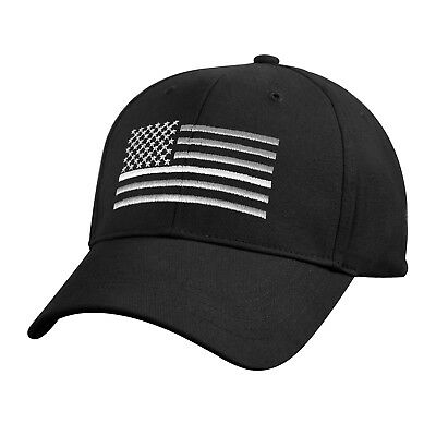 Thin White Line Low Profile Baseball Cap EMS First Responder Support Hat 7773