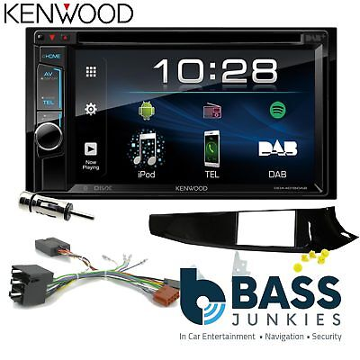 Alfa Romeo Giulietta Kenwood DAB+ CD Bluetooth Car Stereo Double Din Black Kit