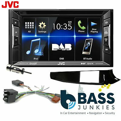 Alfa Romeo Giulietta JVC DAB+ CD Bluetooth Car Stereo Double Din Black Kit