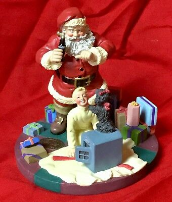 """RARE Coca Cola limited edition #29 of 2000 """"Things Go Better with Coke"""" figurine"""