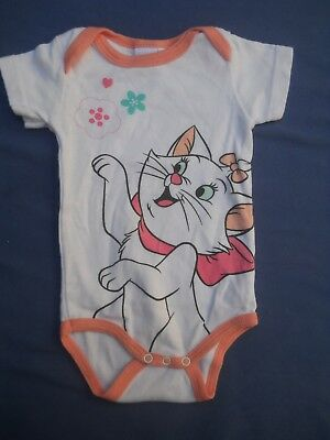 "body baby disney  marie ""aristochats"" fille 6 mois"