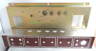Replacement JMI / Vox AC15  Chassis Steel & Ali Parts + Faceplate NEW