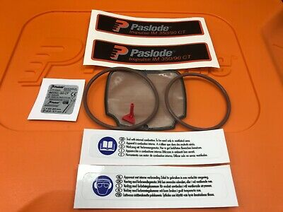 Paslode Service Kit For Im350 Nailer All Genuine Parts With Five Service Labels
