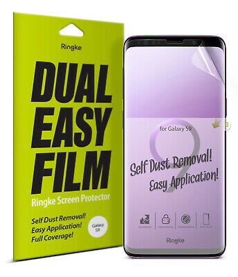 Samsung Galaxy S9 Screen Protector Ringke® [ID Full Coverage] Clear Film [3pcs]