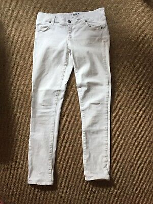 Paige White Maternity Jeans Size 26