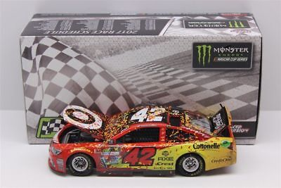 2017 Kyle Larson #42 Target Michigan Win 1/24 Chevy Ss Free Shipping In Stock