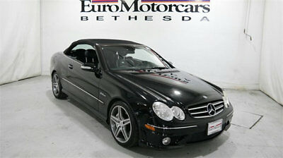 2008 Mercedes-Benz CLK-Class 2dr Cabriolet 6.3L AMG mercedes benz clk 2dr cabriolet 6.3l amg 63 07 08 09 convertible roadster used