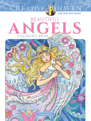 Dover Publications Beautiful Angels Adult Coloring Book