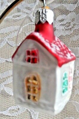 Glass Christmas Ornament - DISCOVERY CHANEL STORE - COTTAGE w/tag