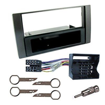 Kit mascherina colore nero +  connettore autoradio FORD GALAXY / FIESTA