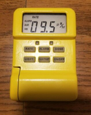 canberra MRad113 personal radiation detector